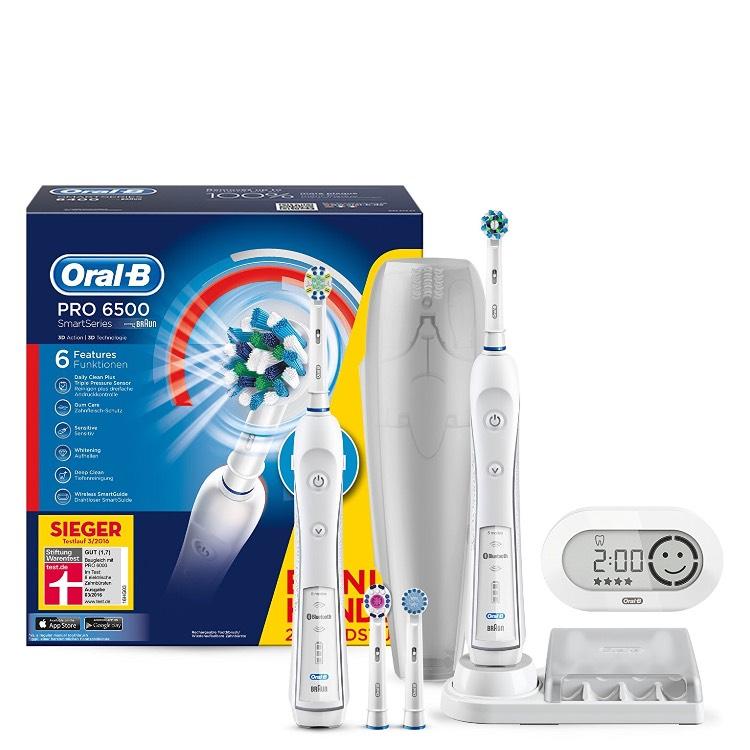Oral-B Pro 6500 SmartSeries BONUS-PACK