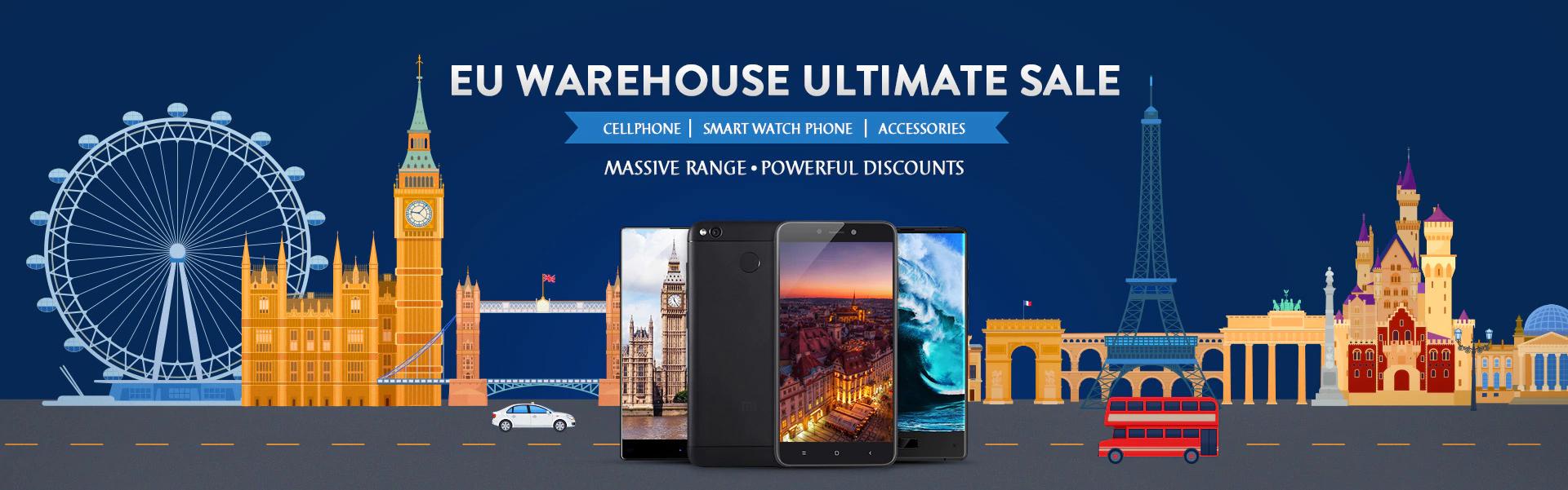 [Gearbest] EU-3 Warehouse Sale mit $20 Gutschein ab $100 MBW - z.B. Oukitel U11 Plus mit 42% Ersparnis!