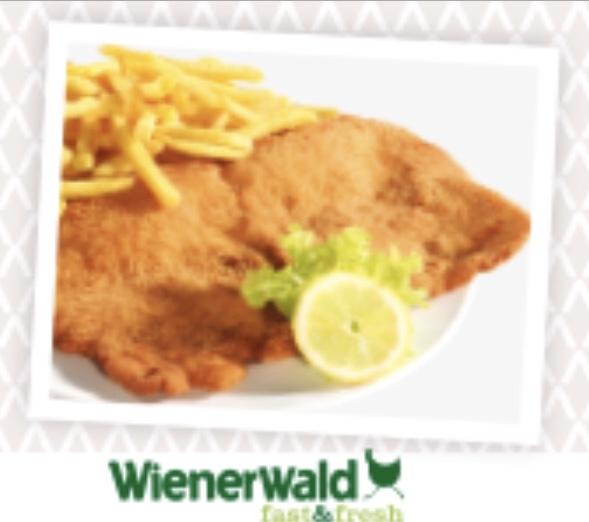 Wienerwald City Gate: Schnitzel + Pommes um 5,90 € - bis 31.12.2017