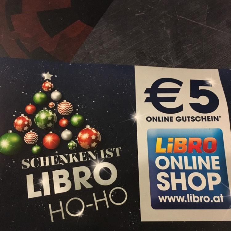 Libro 5€ Gutschein ab 30 €