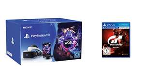 PlayStation VR MEGAbundle Camera + VR Worlds Voucher + Gran Turismo Sport - Standard Edition