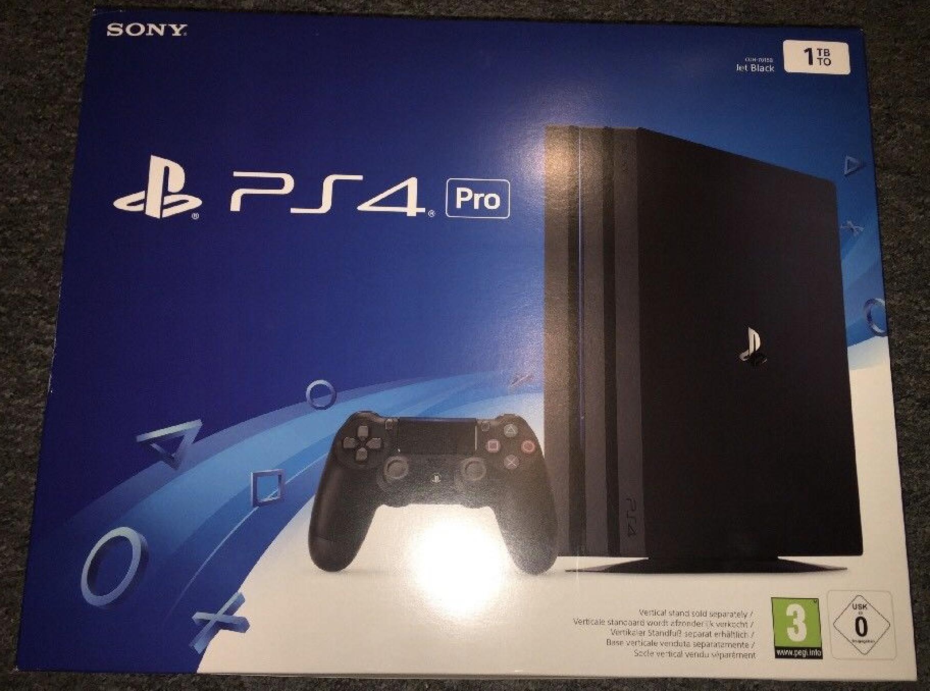 [Schweiz] PS4 Pro schwarz