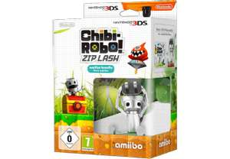 Chibi-Robo! Zip Lash (Nintendo 3DS) + amiibo Chibi-Robo Figur für 8€