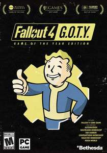 [cdkeys] Fallout 4: Game of the Year Edition PC für 16,37 € statt 21,99 €