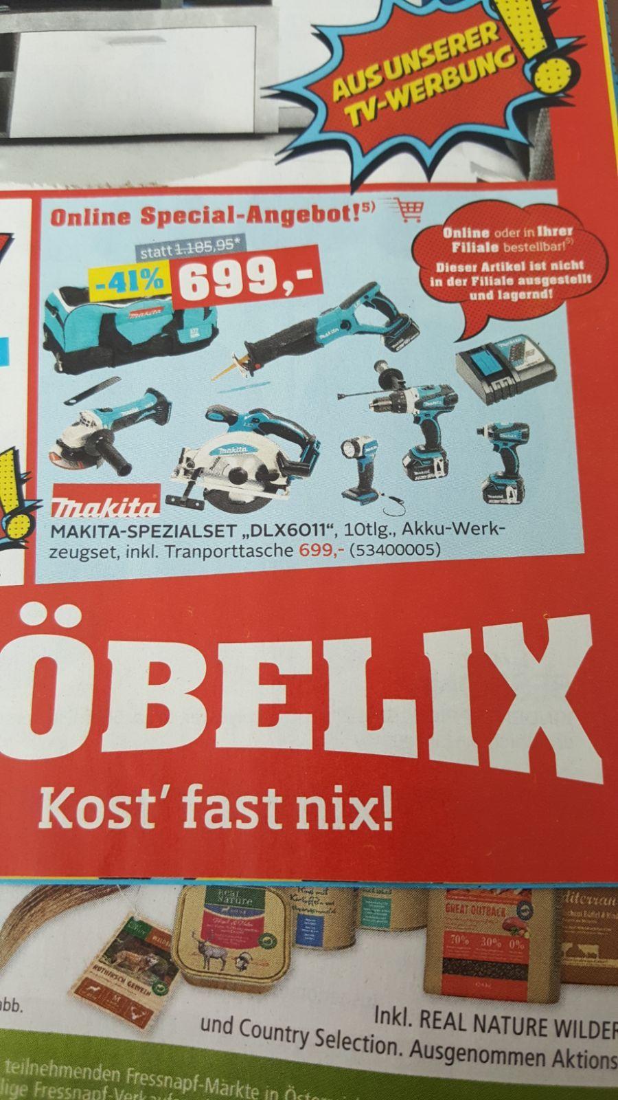 Makita Spezialset DLX6011, 10tlg.