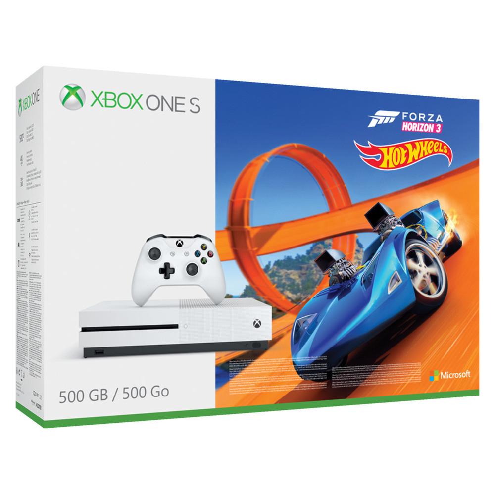 [Schweiz] Xbox One S 500 GB + Forza Horizon 3 + Hot Wheels DLC