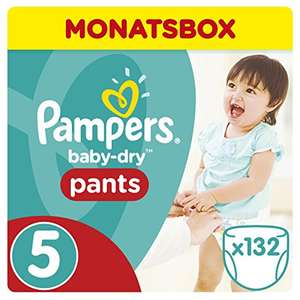 AMAZON BLITZANGEBOT Pampers Byby Dry Pants Gr.: 5