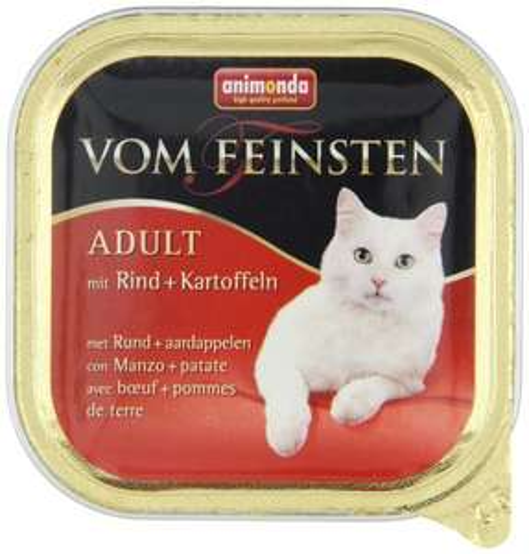 [www.AMAZON.de] Animonda vom Feinsten Katzenfutter, 32er Pack (3,2 kg) verschiede Sorten lt Liste für Prime Kunden €7,73