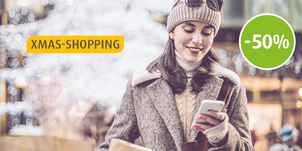 MyTaxi: 50% Rabatt in Wien an allen Dezember Einkaufssamstagen + 80% Rabatt am 8. Dezember