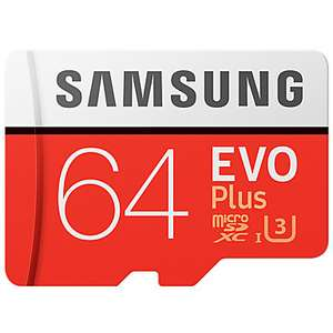[Lightinthebox] Samsung 64GB EVO Plus UHS-I U3 Class10 um nur 17,79€ + Gratis Reader
