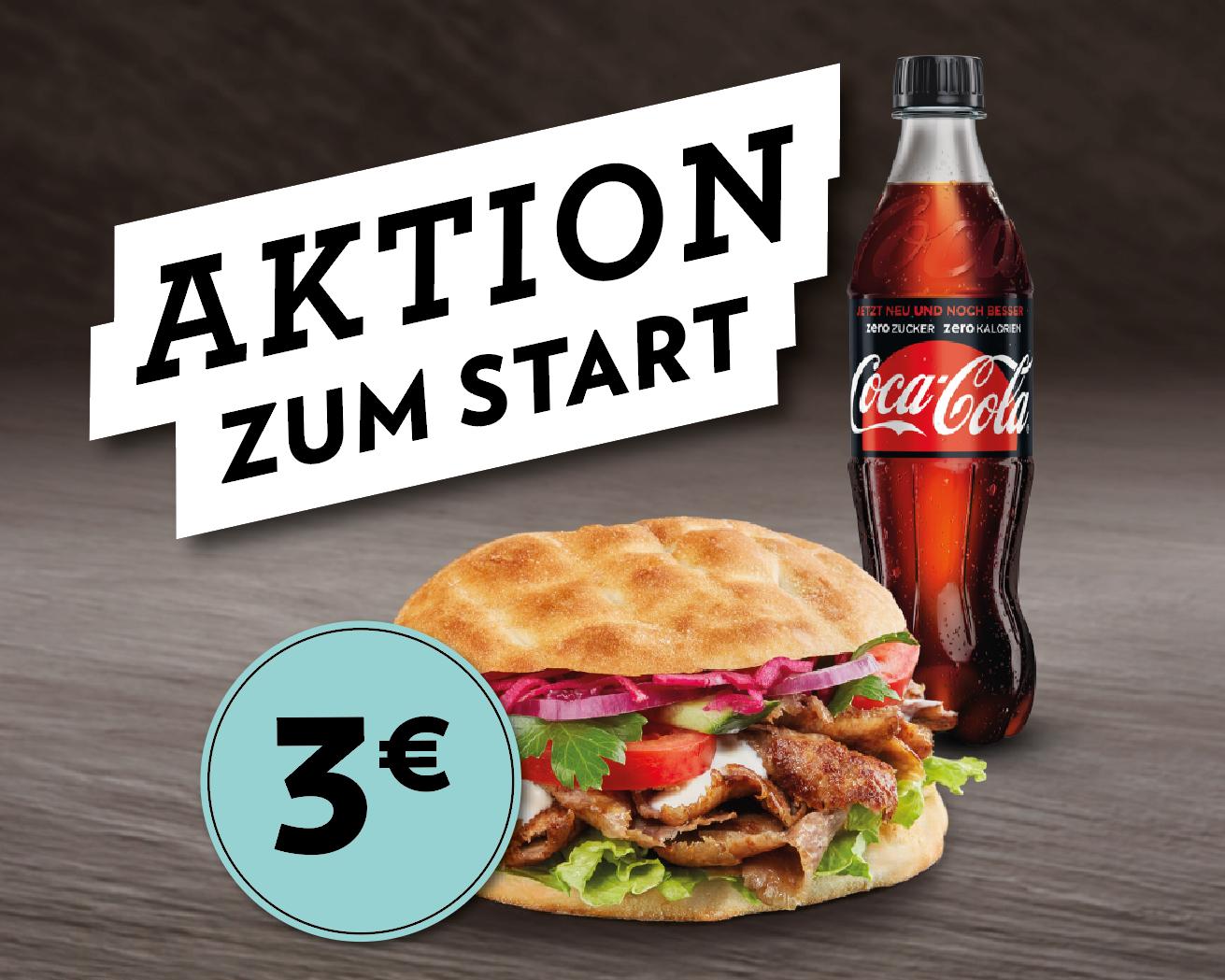 Türkis in Wien Mitte - Start Aktion (Kebab/Falafel/Pide/Lahmacun + Getränk = 3€)