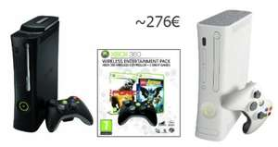 Preisfehler: XBox 360 Elite + Entertainment Pack + XBox Arcade für 276€! *UPDATE*