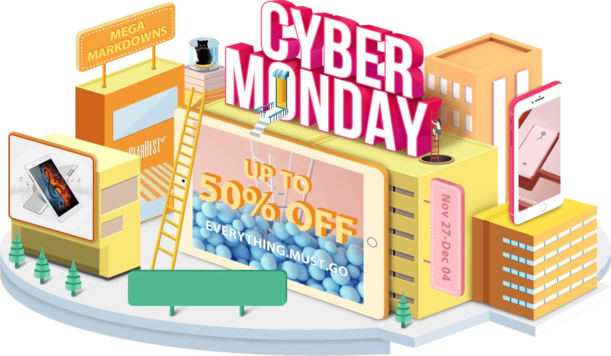 [Gearbest] Cyber Monday Week mit u.a. Blackview S8 für 135,10 €