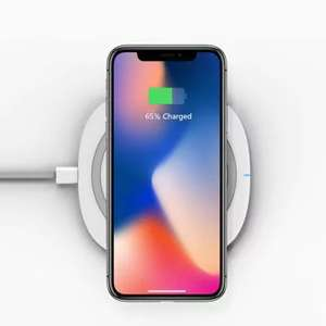 [Gearbest]TOCHIC 10W Qi Fast Wireless Charger for iPhone X / 8 / 8 Plus / Samsung / LG / Xiaomi um nur 8,75€