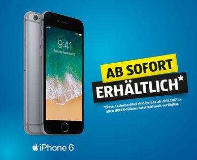 iPhone 6 (32 GB) Abverkauf bei Hofer