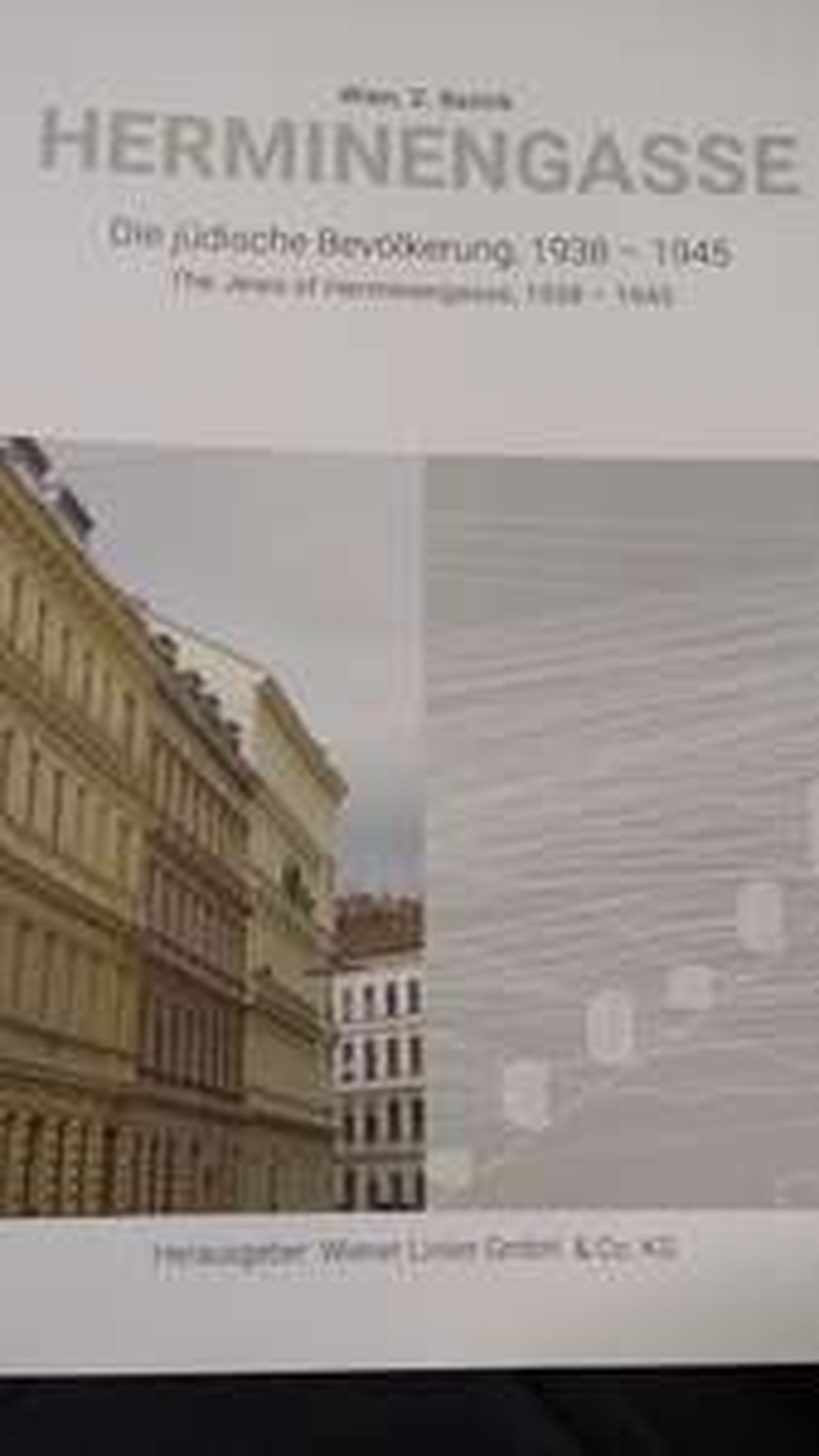 Wiener Linien - Gratis Buch: Herminengasse