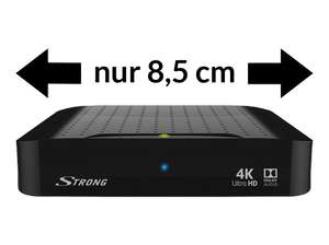 STRONG 4K Ultra HD Android 7.1 IP TV Receiver SRT 2022 um € 61,-