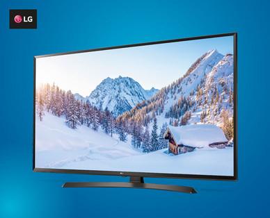 """Hofer: LG 49"""" UHD HDR TV um 479 € - Bestpreis - am 8.12.2017"""