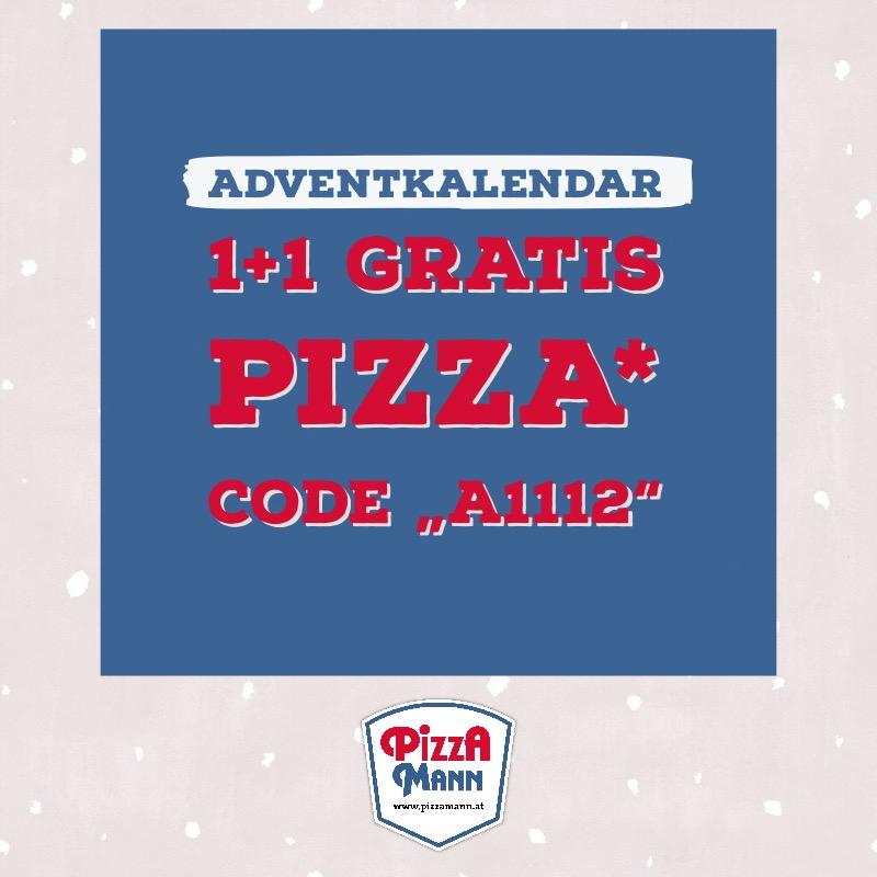 Pizzamann Adventkalender 1+1 gratis
