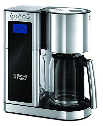 [Amazon] Russell Hobbs Elegance 23370-56 Digitale Glas-Kaffeemaschine für 74,21 € statt 87,70 €