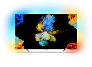 Philips 55POS9002/12 139 cm (55 Zoll) LED-Fernseher (Ambilight, OLED 4K Ultra HD, Android TV) mal wieder günstiger