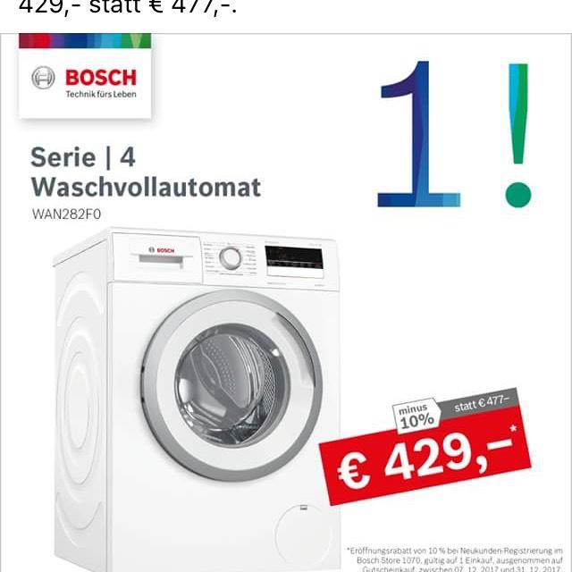 Bosch WM, A+++