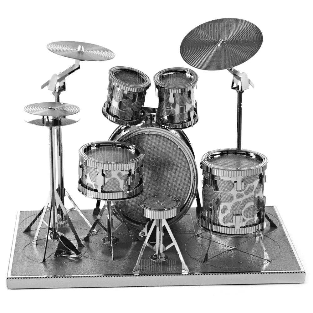 [Gearbest] Drum Set 3D Metallic Puzzle für 1,90 € inkl. Versand