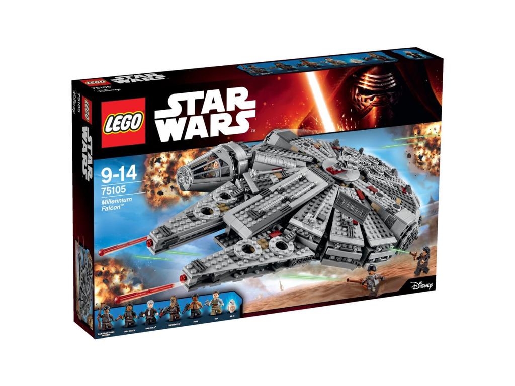 LEGO - Star Wars Episode VII - Millennium Falcon (75105) für 99€