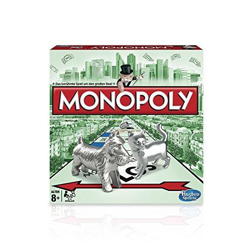 Monopoly Classic, Familienspiel (Hasbro Spiele 00009398) für 16,99€