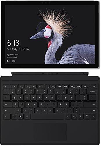 Microsoft Surface Pro 2017 (Intel m3, 4 GB RAM, 128 GB SSD) ohne Stift + Surface Pro Type Cover für 739€