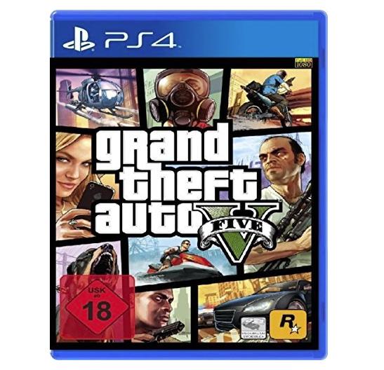 Amazon.de: GTA 5 für die PS4 um 20,16€