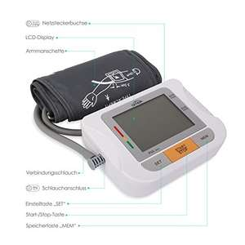 [Amazon.de] SIMBR Oberarm Blutdruckmessgerät mit großer Manschette