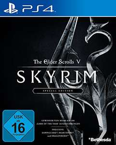 The Elder Scrolls V: Skyrim Special Edition PS4 bei Amazon