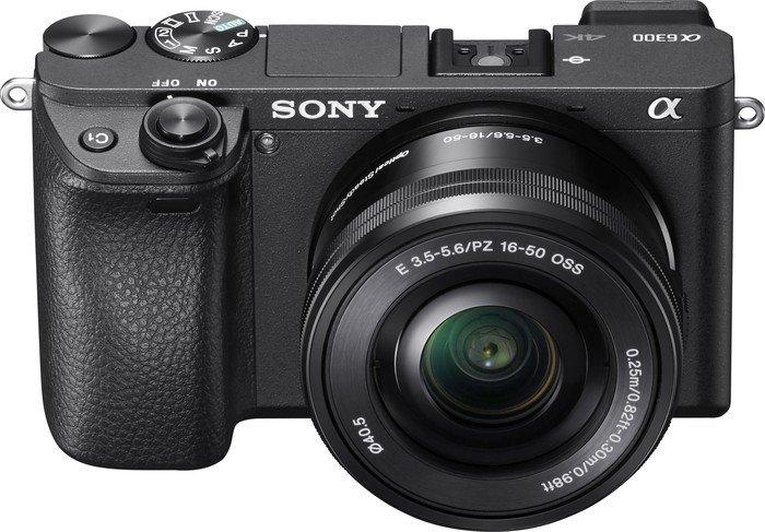 Sony Alpha 6300 schwarz mit Objektiv AF E 16-50mm