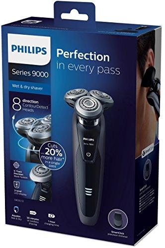 Philips Series 9000 Nass- & Trockenrasierer S9031/12 für effektiv 59,83 Euro