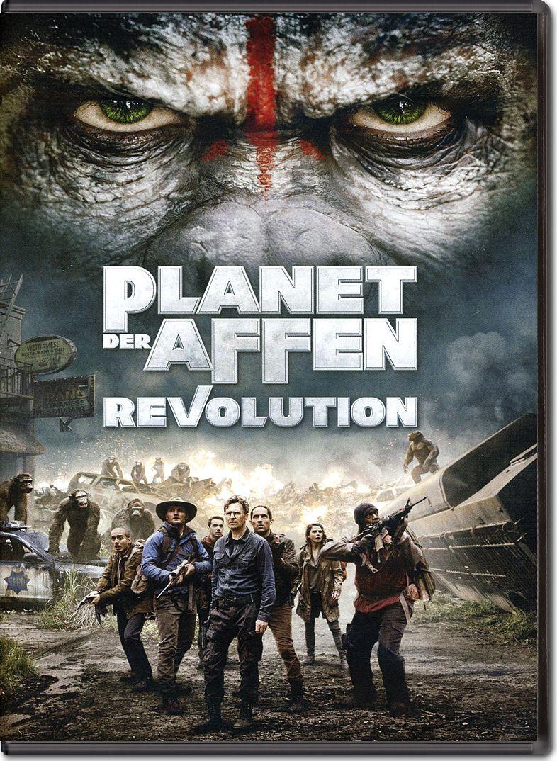 Planet der Affen Revolution auf BD geschenkt für Sky Kunden