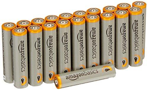 AmazonBasics Performance Batterien Alkali, AAA, 20 Stück