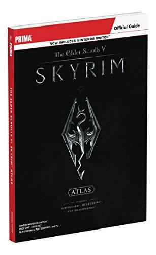 The Elder Scrolls V: Skyrim Atlas: Prima Official Guide (Englisch)