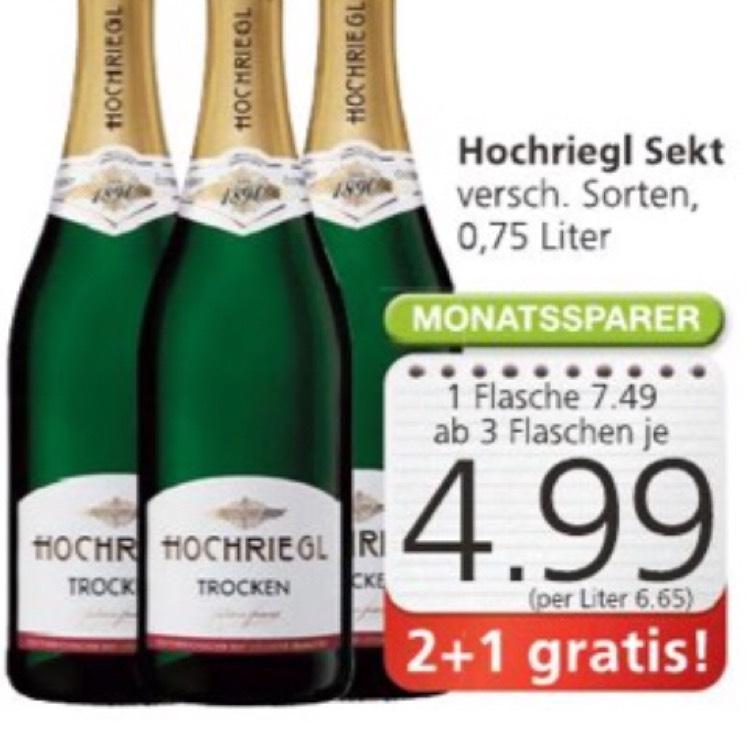 Sekt, Hochriegl, ab 3 Flaschen 4,99