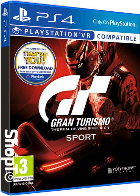 Gran Turismo Sport (GT Sport, PS4) schob ab ~20,19€ bei ShopTo (UK)
