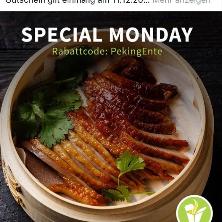 Mjam Special Monday - 3€ auf Essensbestellungen