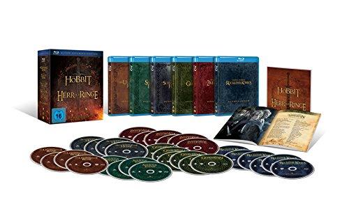 Mittelerde Extended Edition als exklusive Sammleredition (18 Blu-Rays + 12 DVDs) für 54,97€