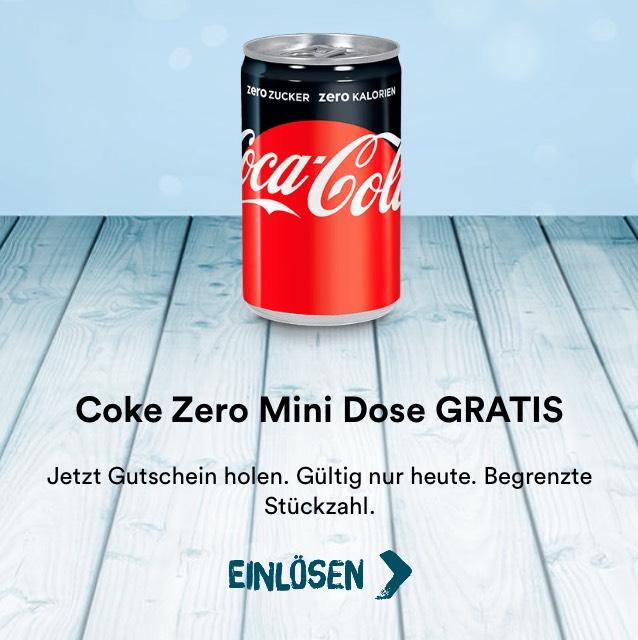 Coke Zero Gratis beim McAdventskalender