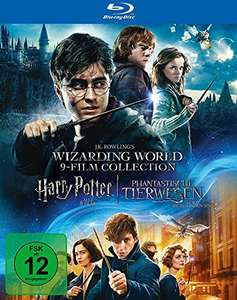 Harry Potter 1-7.2 (8 Filme) + Phantastische Tierwesen Blue Ray Limited Edition