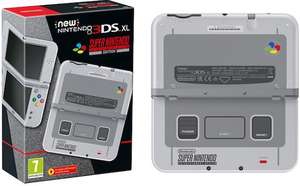 Amazon.de: New Nintendo 3DS XL SNES Edition um 171,42€