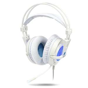 [Gearbest] Sades A6 7.1 Virtual Surround Sound USB Gaming Headset für 17,69 € statt 21,20 €