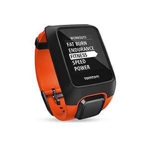 Tomtom Adventure Cardio GPS Uhr + HR Messung + Musik (orange)