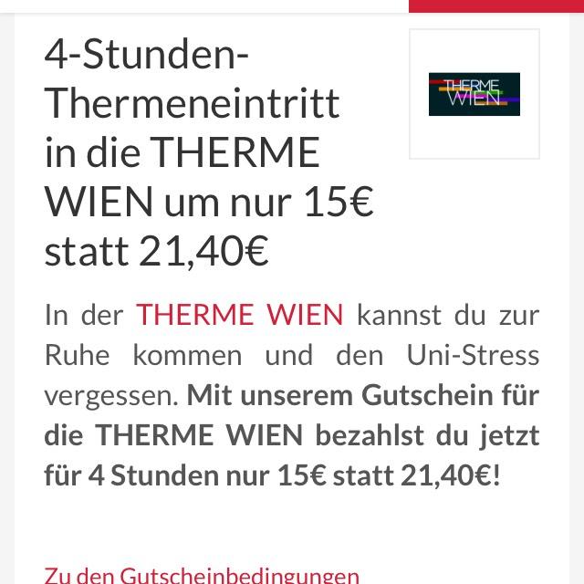 Thermen Gutschein