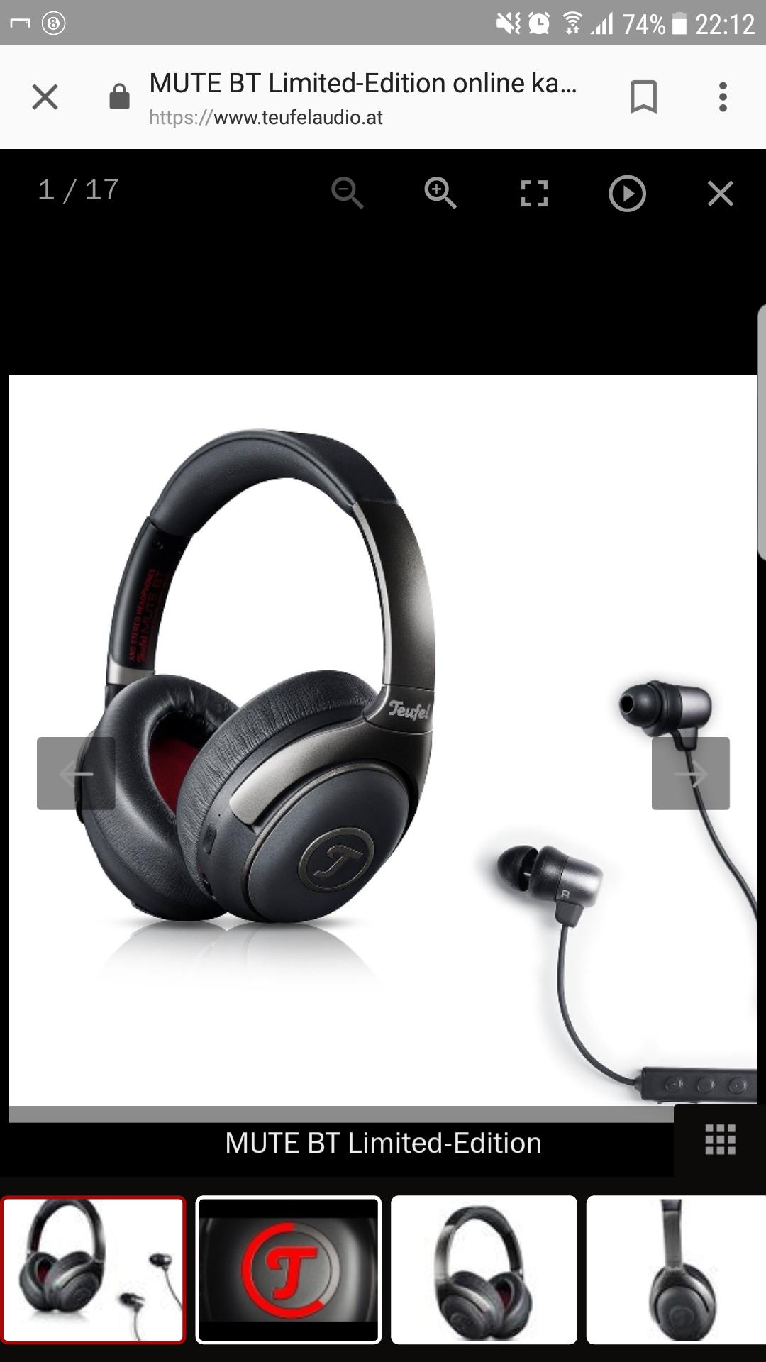 Bluetooth Kopfhörer von Teufel