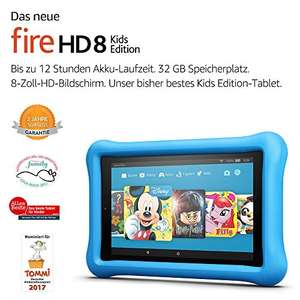 [Amazon.de] Fire HD 8 Kids Edition-Tablet  32GB Blau oder Rosa